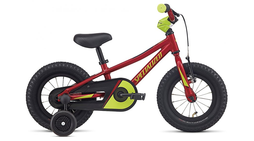 Specialized Riprock Coaster 12 MTB Komplettrad Kinder Gr. unisize candy red/hyper green Mod. 2020