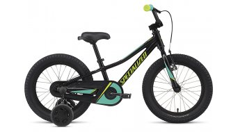 Specialized Riprock Coaster 16 MTB Komplettrad Kinder-Rad Gr. unisize tarmac black/emerald green/hyper Mod. 2020