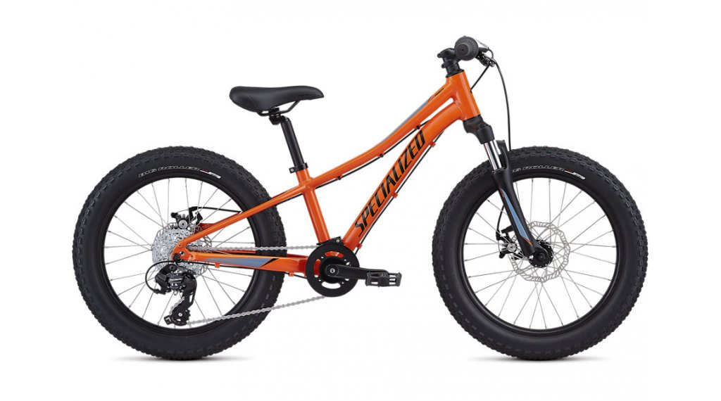 "Specialized Riprock 20 MTB Komplettrad Kinder Gr. 22.9cm (9"") moto orange/charcoal/storm grey-cool grey fade Mod. 2020"