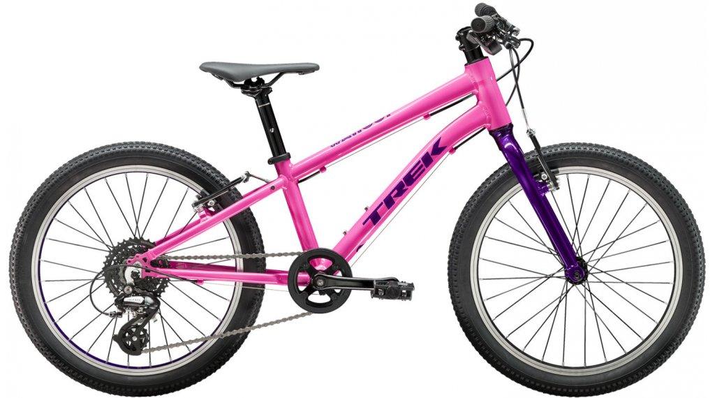 "Trek Wahoo 20 20"" niños-rueda bici completa tamaño 20"" flamingo pink/purple lotus Mod. 2020"