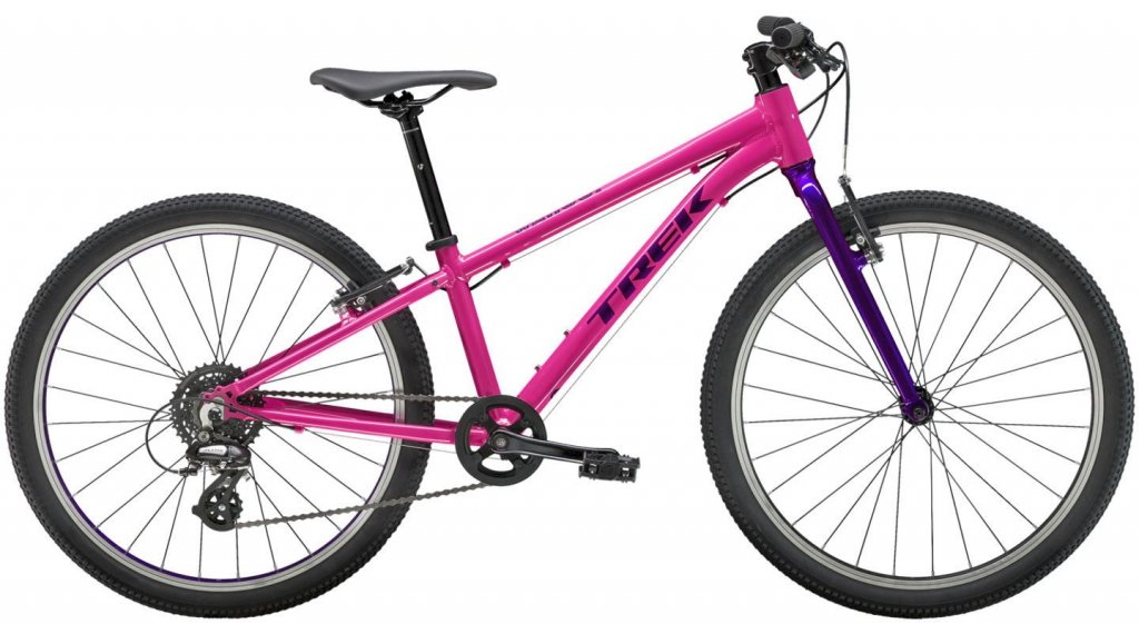 "Trek Wahoo 24 24"" 儿童-Rad 整车 one size flamingo 粉色/purple lotus 款型 2019"