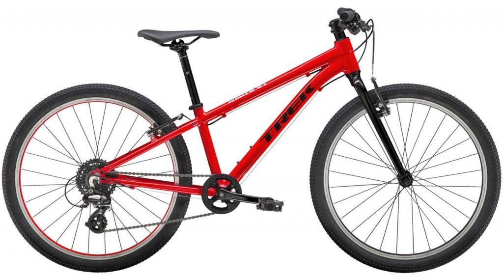 "Trek Wahoo 24 24"" 儿童-Rad 整车 one size viper red/Trek black 款型 2019"