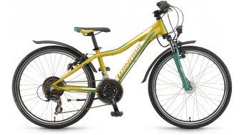 Winora Rage 24 21-G bambino er bici 24 pollice mis. 32cm lime/verde/bianco opaco mod. 2017