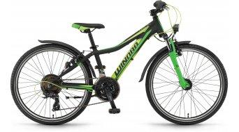Winora Rage 24 21-G bambino er bici 24 pollice mis. 32cm nero/lime/verde opaco mod. 2017