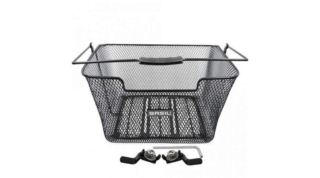 Basil Capri Flex Gepäckträgerkorb Stahl schwarz