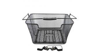 Basil Capri Flex bagage trägerkorb staal(stalen) zwart
