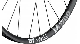 "DT Swiss M 1700 Spline Black 29"" Laufrad Hinterrad 25mm-Felgenbreite Center Lock Boost 148x12mm Shimano HG-Freilauf"