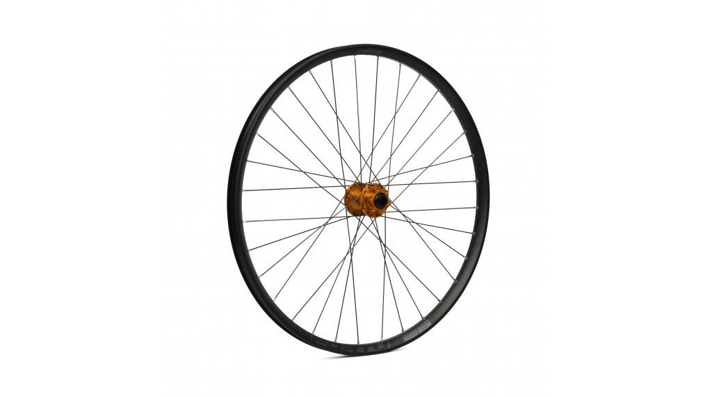 "Hope Fortus 26W - Pro4 27,5"" MTB Disc Laufrad Vorderrad 32-Loch 15x100mm orange"