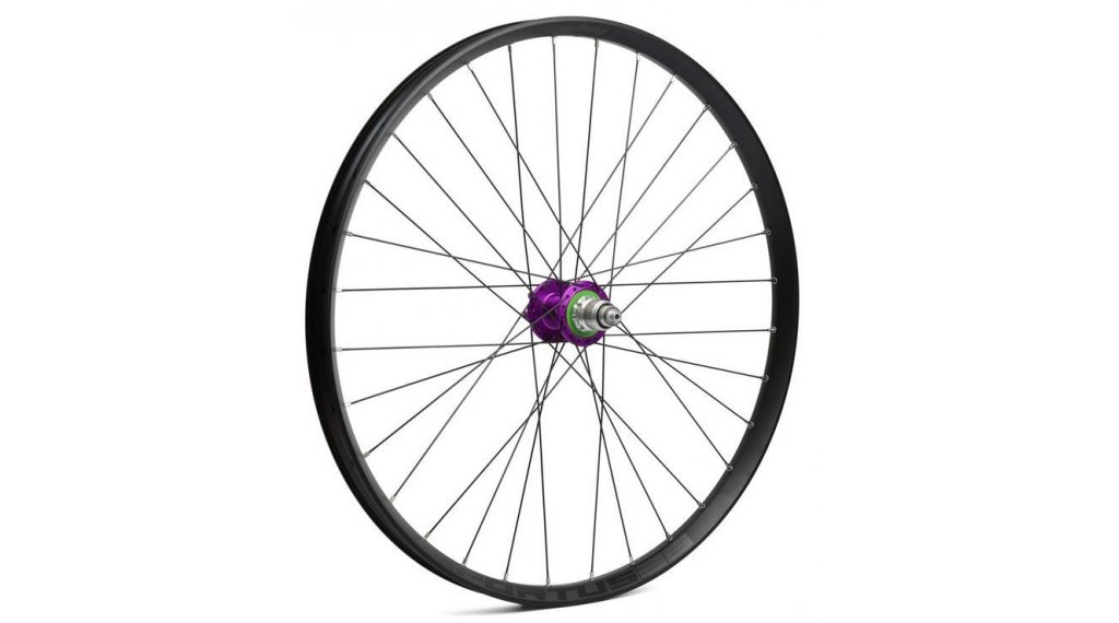 "Hope Fortus 35W - Pro 4 29"" MTB Disc Laufrad Hinterrad 32-Loch QRx135mm/12x142mm Sram XD-Freilauf purple"