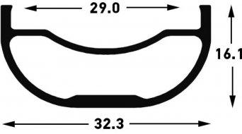 """NoTubes ZTR Flow MK3 27.5"""" MTB Laufradsatz 15x100mm//12x142mm Shimano/SRAM-Freilauf"""