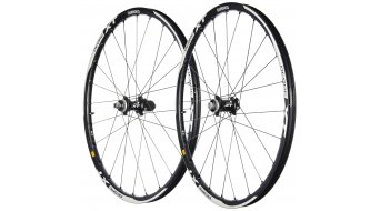 Shimano Deore XT WH-M788 26 MTB Disc set ruote ant+post Clincher/Tubeless Centerlock nero (ruota anteriore :15mm-E-Thru/ruota posteriore :12x142mm E-Thru)