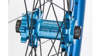 "Spank Oozy Trail-395+ 27.5"" Disc Laufradsatz Shimano-Freilauf VR: 15x100+20x110mm / HR: QR+12x135mm+12x142mm blue"