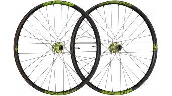 "Spank Oozy Trail-395+ 27.5"" Disc Laufradsatz Shimano-Freilauf VR: 15x100+20x110mm / HR: QR+12x135mm+12x142mm black/emerald green"