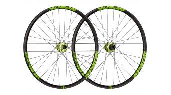 """Spank Spike Race33 DH 26"""" Disc Laufradsatz Shimano-Freilauf VR: 20x110mm / HR:12x150mm black/green"""
