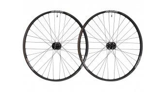 Spank 350 Vibrocore 27.5/650B disc wheel set free-wheel front wheel : / HR: black
