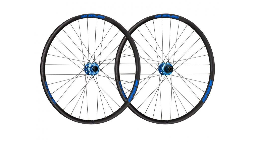 """Spank Spike Race33 DH 27.5"""" Disc Laufradsatz SRAM-Freilauf Boost VR: 20mm / HR:12x148mm black/blue"""