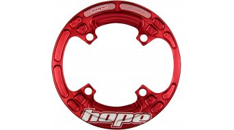 Hope Lightweight Bash Guard 32/34T 4 fori (104mm) rosso