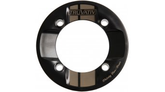 Truvativ RockGuard Rockring Zähn, 4臂 (104mm) black white stripe