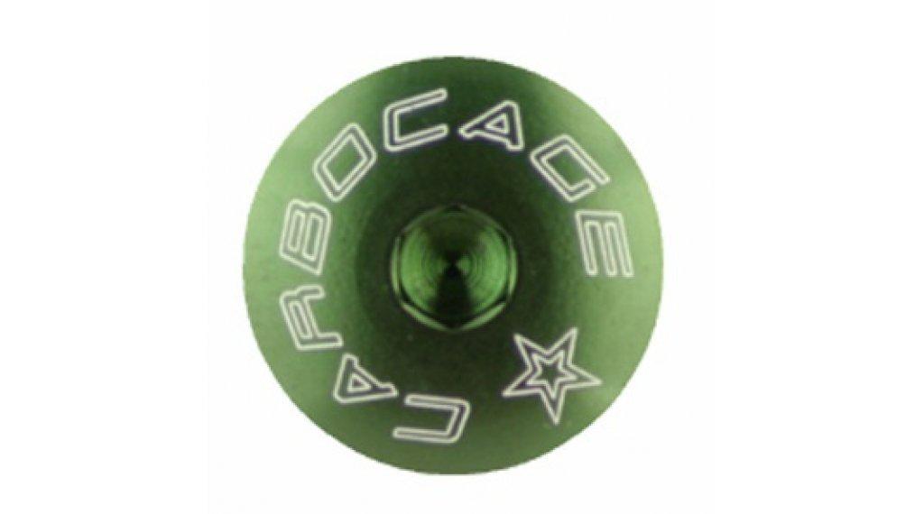 Carbocage Schraubenset für 4x, Freeride und Downhill M6-23mm green