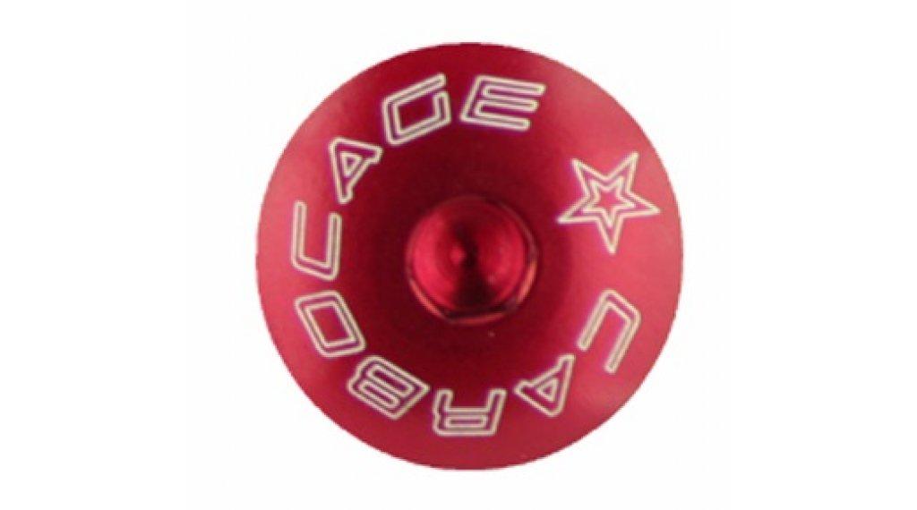 Carbocage Schraubenset für 4x, Freeride und Downhill M6-23mm red