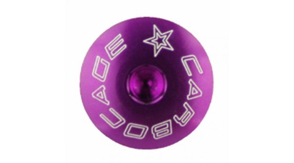 Carbocage Schraubenset für 4x, Freeride und Downhill M6-23mm purple