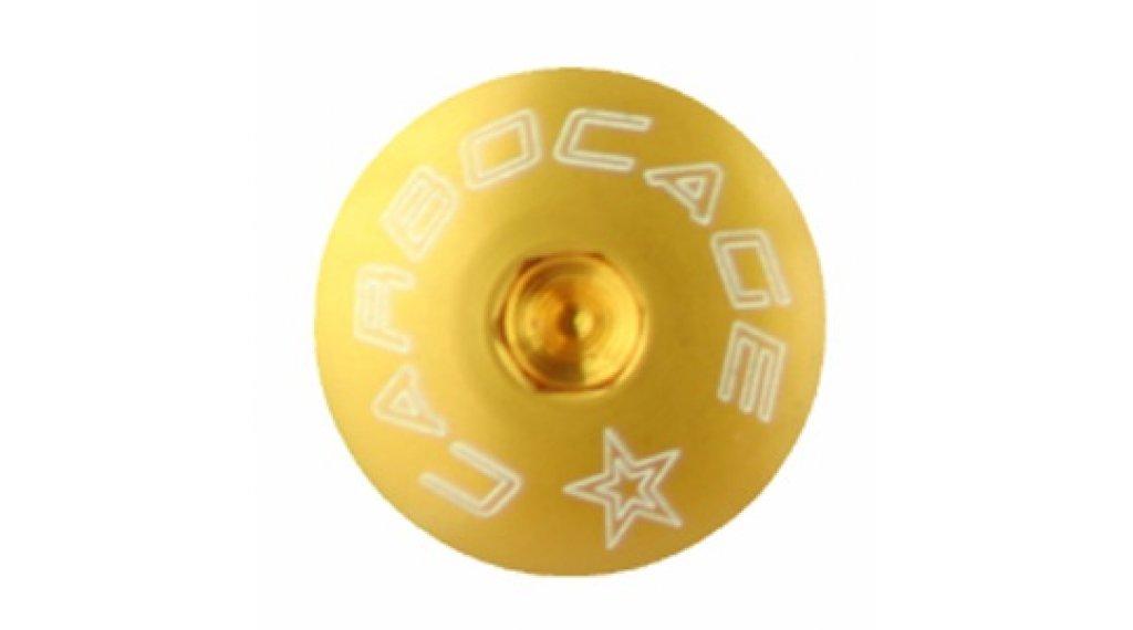 Carbocage Schraubenset fürJedi, Ghost Custom Kettenführung M6-20mm gold
