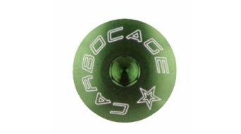 Carbocage Schraubenset fürJedi, Ghost Custom Kettenführung M6-20mm green