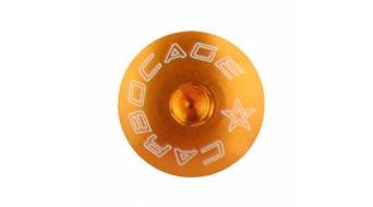 Carbocage Schraubenset fürJedi, Ghost Custom Kettenführung M6-20mm orange