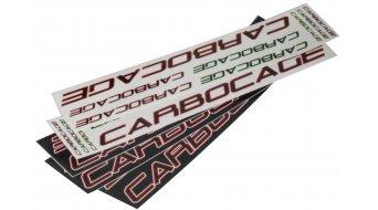 Carbocage 4X Carbon Водач за верига, ISCG05 34-38 зъба, blue