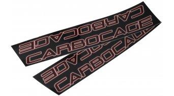 Carbocage FR Carbon Водач за верига ISCG 34-38 зъба, black