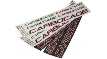 Carbocage FR Carbon Водач за верига ISCG05 34-38 зъба, black