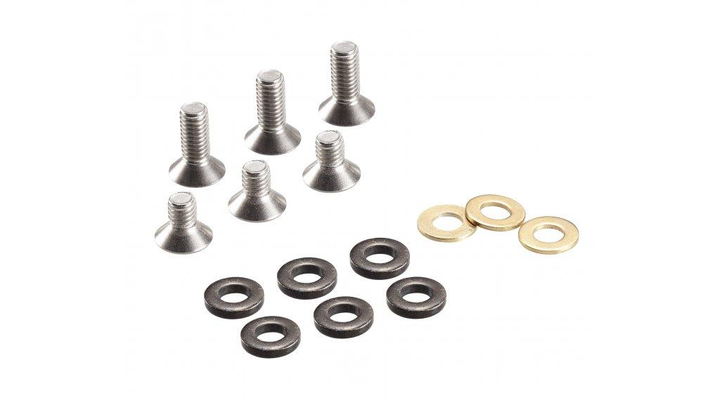 e*thirteen ISCG Schrauben Kit 1-fach Kettenführungen Aluminium Backplate