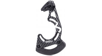 Mozartt HXR carbon chain guide 28-36  teeth ISCG-05 black