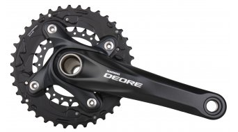 Shimano Deore FC-M615 crank set black 175mm 38-24T 10 speed (incl. HT-II bottom bracket )