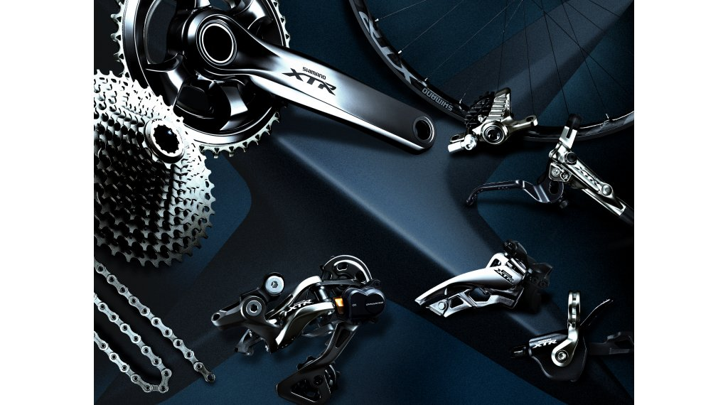 900a1546ff6 Shimano XTR FC-M9020 2x11 speed crank set (without bottom bracket )