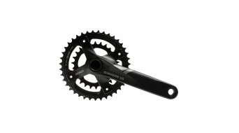 SRAM X5 2.2 GXP Fat bike (100mm) guarnitura 175mm 10 velocità 36-22 Zähne (senza GXP movimento centrale ) nero
