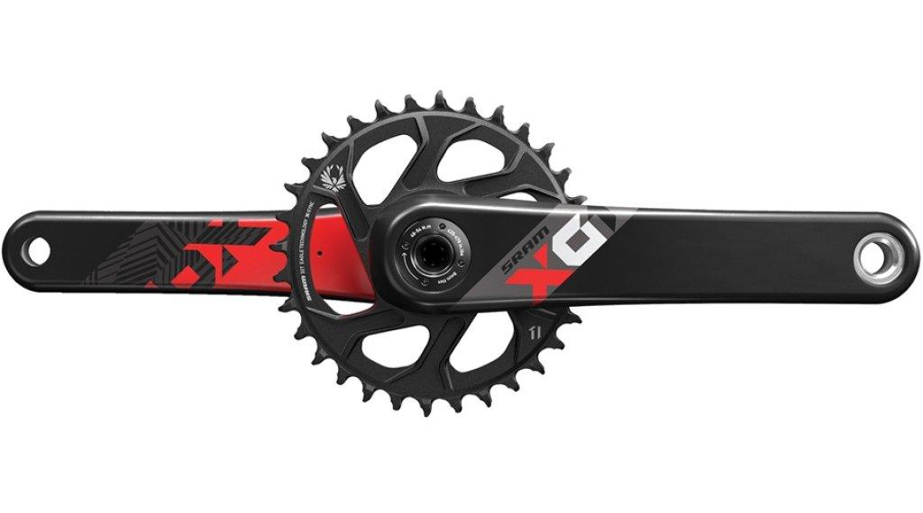 SRAM X01 Eagle BB30 1x12 曲柄组 170mm 32 齿 red (无 BB30 中轴)