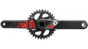 SRAM X01 Eagle GXP 1x12 guarnitura 170mm 32 denti red (senza GXP movimento centrale )