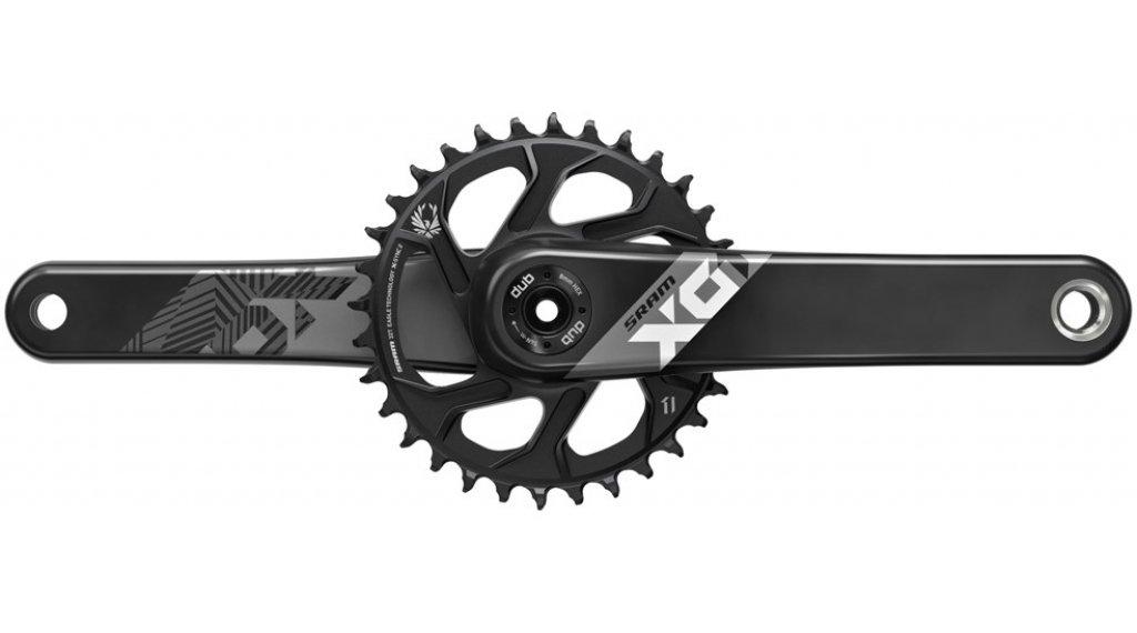 SRAM X01 Eagle FAT4 DUB 曲柄组 12速 175mm 30 齿 DirectMount black