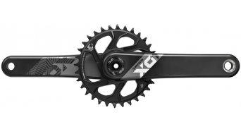 SRAM X01 Eagle Fat5 DUB guarnitura Fat bike 170mm 12 velocità 30 denti DirectMount (senza DUB movimento centrale ) black