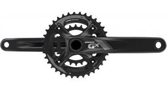 SRAM GX 1000 2.2 BB30 Kurbelgarnitur 170mm 10-fach 24/38 Zähne 64/104mm Lochkreis (ohne BB30 Innenlager) black