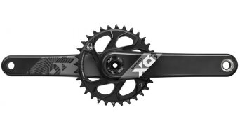 SRAM X01 Eagle Fat5 DUB guarnitura Fat bike 12 velocità 30 Zähne DirectMount (senza DUB movimento centrale ) nero