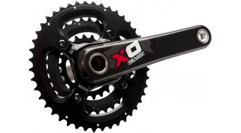 SRAM X0 3.3 BB30 crankset 10-speed 44-33-22 Zähne red (zonder BB30 trapaslager)