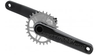 Dartmoor Tribe crank arms without chain rings 175mm 24mm-axle black