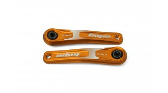 Hope E- bike crank arms 165mm orange