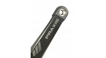 Praxis Works eCrank Carbon Kurbel 165mm für Bosch/Yamaha (ohne Innenlager/ohne Kettenblatt)
