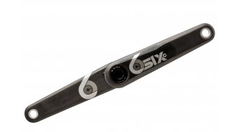 RaceFace Sixc Cinch crank 165mm (without . bottom bracket ) black