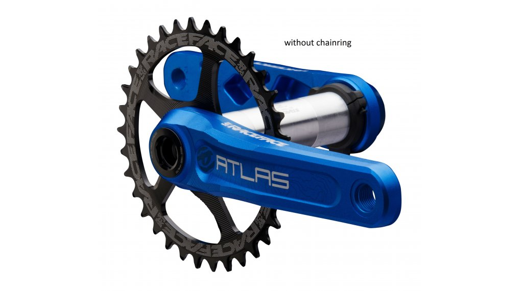 Race Face Atlas Cinch 30mm Kurbelkit 165mm 68/73mm (ohne Innenlager) blue