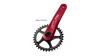 Race Face Atlas Cinch 30mm Kurbelkit 165mm 68/73mm (ohne Innenlager) red