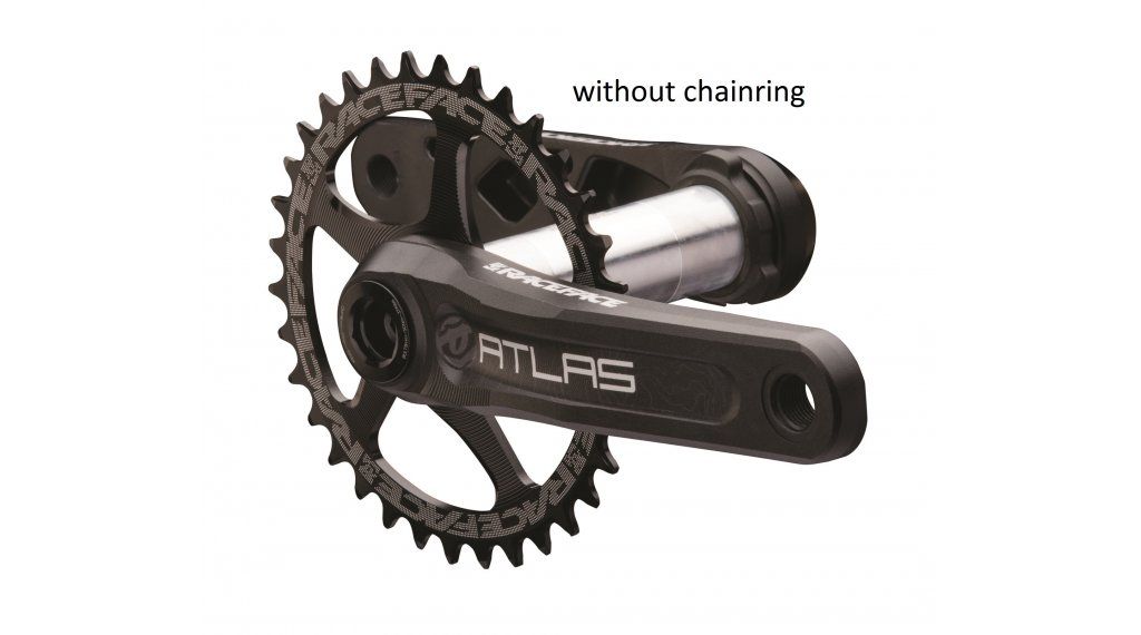 Race Face Atlas Cinch 30mm Kurbelkit 165mm 68/73mm (ohne Innenlager) black